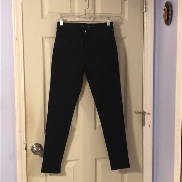 American Eagle Outfitters Denim - Black 360 Super Stretch High Rise Jegging